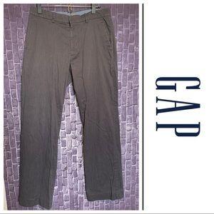 Dark Grey Heather Flat Front Pants | 32x34